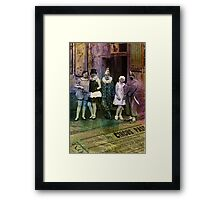 Interval at the Circus Framed Print