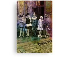 Interval at the Circus Canvas Print