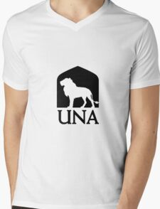 University of North Alabama Mens V-Neck T-Shirt