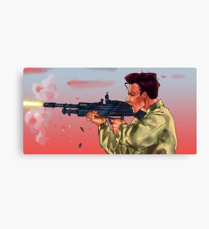 Soldier Harry Canvas Print