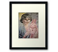 Space Madonna Framed Print