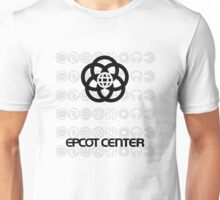EpcotWatermarkBlackSymbol Unisex T-Shirt