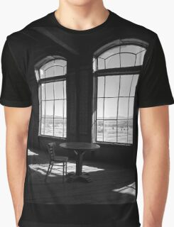 Table and Chair and The Windows Graphic T-Shirt
