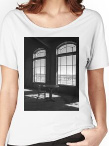 Table and Chair and The Windows Women's Relaxed Fit T-Shirt