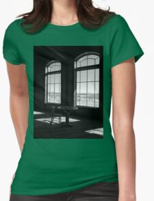 Table and Chair and The Windows Womens Fitted T-Shirt