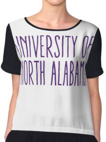 University of North Alabama Chiffon Top