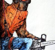 Arborist Tree Surgeon Lumberjack Logger Stihl chainsaw Sticker
