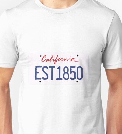 California License Unisex T-Shirt