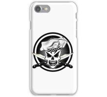 Chef Skull Black 2 iPhone Case/Skin