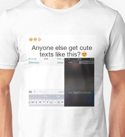No Notifications Unisex T-Shirt
