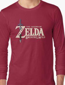 THE LEGEND OF ZELDA: BREATH OF THE WILD LOGO 4K Long Sleeve T-Shirt
