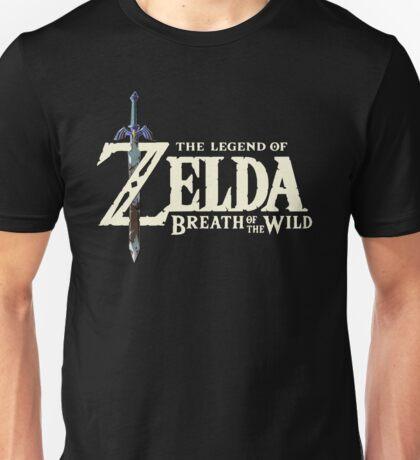 THE LEGEND OF ZELDA: BREATH OF THE WILD LOGO 4K Unisex T-Shirt