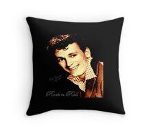 Gene Vincent Throw Pillow