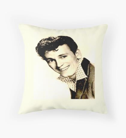 sweet GENE VINCENT Throw Pillow