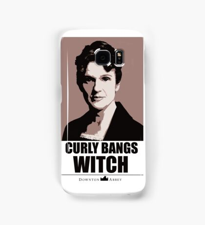Curly bangs witch Samsung Galaxy Case/Skin