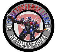 Optimus Prime Autobot Leader Photographic Print