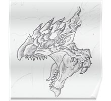 Roar of the Rathalos! Poster