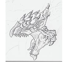 Roar of the Rathalos! Photographic Print