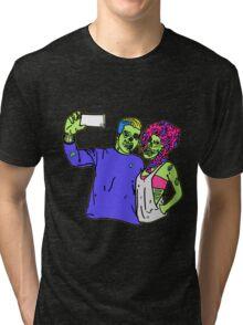 Zombie Selfie Tri-blend T-Shirt