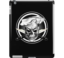 Chef Skull Black 3 iPad Case/Skin
