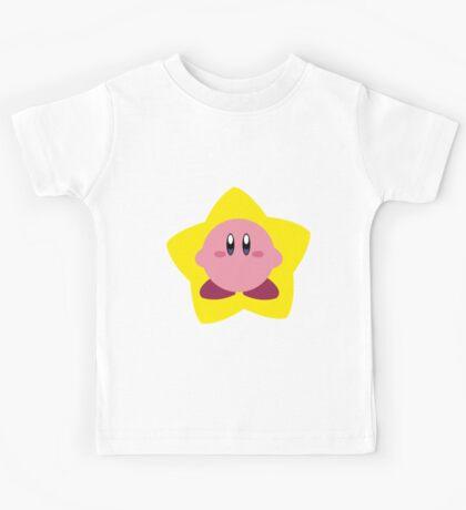 Kirby and star Kids Tee