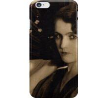 Femme Fatale in Sepia iPhone Case/Skin