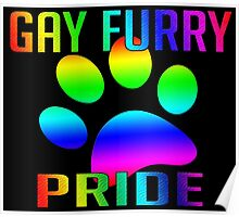 Gay Furry Pride Poster