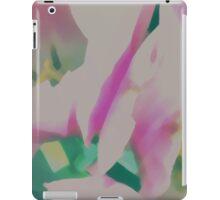 Abstract Pastel Tulips iPad Case/Skin