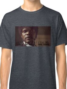 Pulp Fiction Say What Again Jules Classic T-Shirt