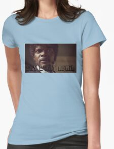Pulp Fiction Say What Again Jules Womens Fitted T-Shirt