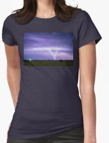AMAZING Anvil Lightning Creepy Crawlers Womens Fitted T-Shirt