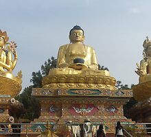 God Buddha or Gautama Buddha by Tubal Sapkota
