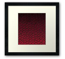 Drogon Scales Framed Print