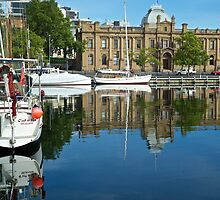 Morning moorings: Hobart by mypic