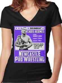Chris Hermes Champion Edition Women's Fitted V-Neck T-Shirt