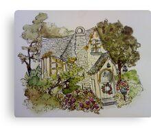 Dreamy Cottage Canvas Print