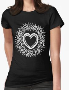 Sacred Heart  Womens Fitted T-Shirt