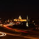 Minnesota State Capital at Night by Jimmy Ostgard