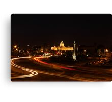 Minnesota State Capital at Night Canvas Print
