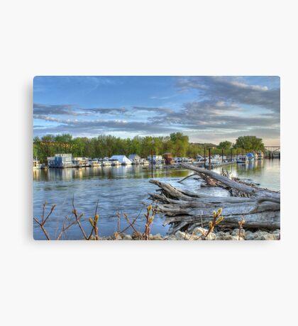 Mississippi Harbor 1 Canvas Print