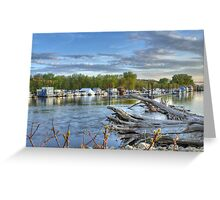 Mississippi Harbor 1 Greeting Card