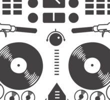 Musical skull Sticker
