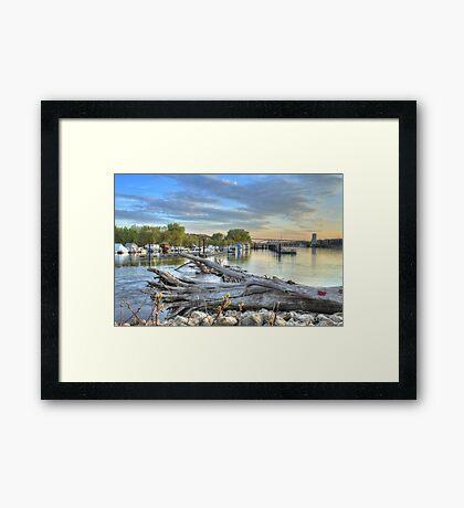 Mississippi Harbor 2 Framed Print