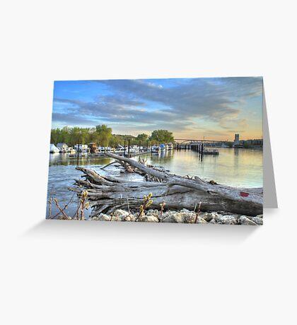 Mississippi Harbor 2 Greeting Card