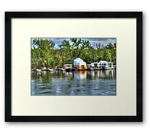 Mississippi Harbor 3 Framed Print