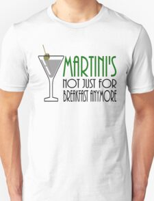 Lets all have a drink for breakfast or anytime Unisex T-Shirt