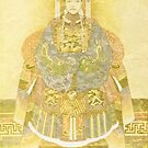 Chinese Empress on Her Throne by Sarah Vernon