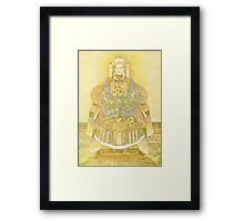 Chinese Empress on Her Throne Framed Print