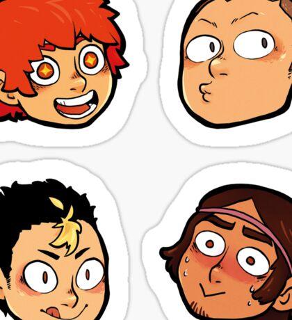 Karasuno Stickers -  Dork Squad Sticker