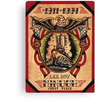 Lee Roy Minugh Chestpiece Canvas Print